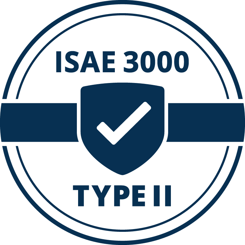Certificate ISAE 3000
