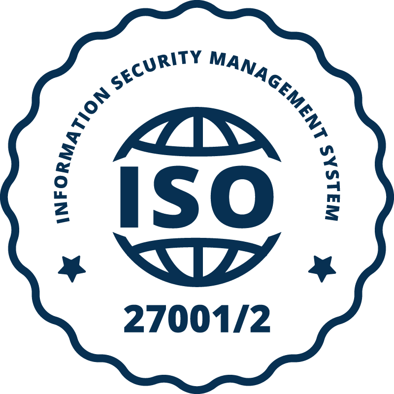 Certificate ISO 27001 / 27002