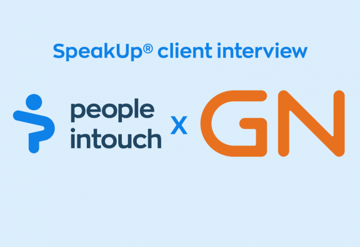 SpeakUp interview with our client GN store Nord